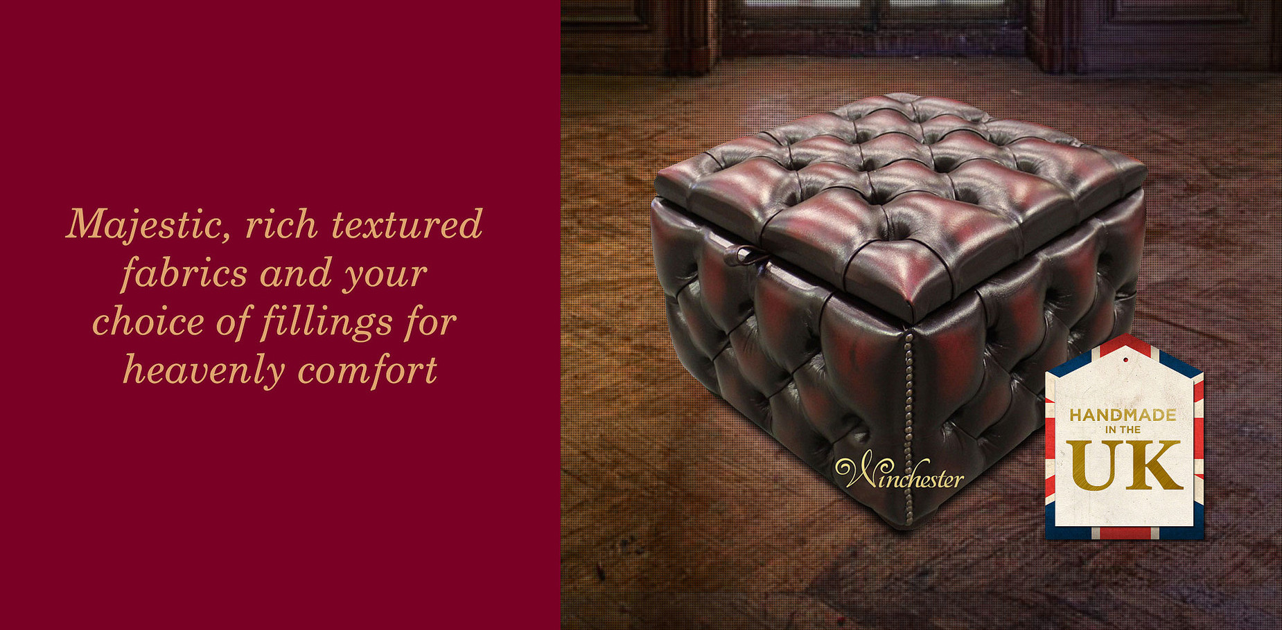Chesterfield Footstool