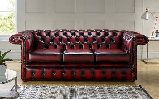 The 1857 Hockey Stick Chesterfield Sofa