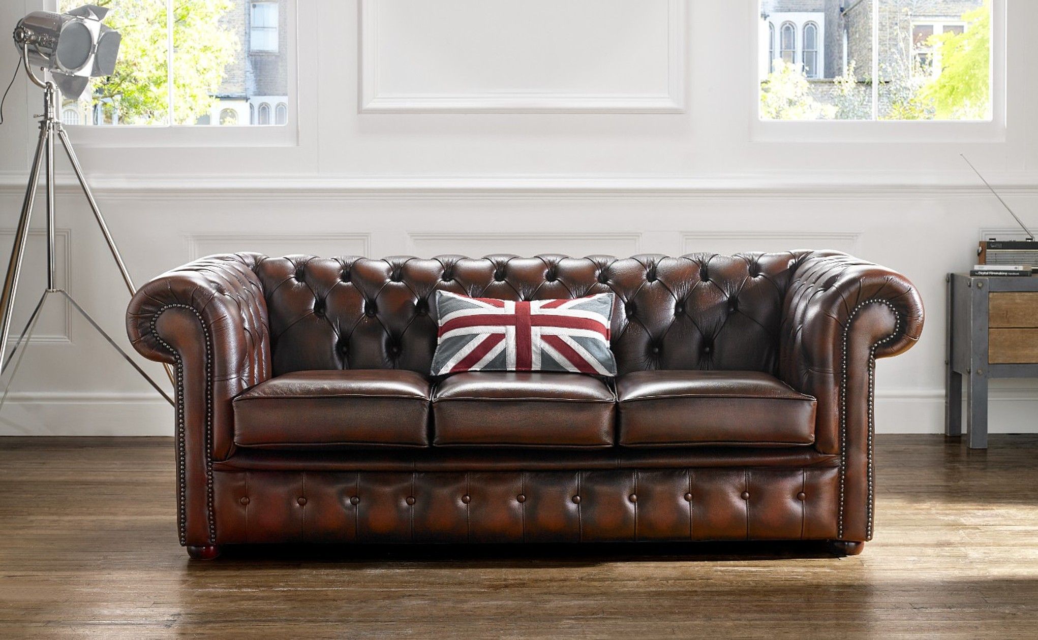 The Classic Chesterfield Sofa