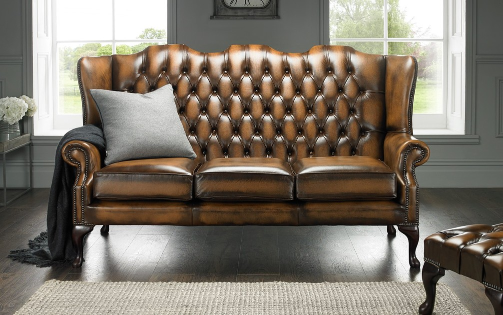 The Highback Chesterfield Sofa