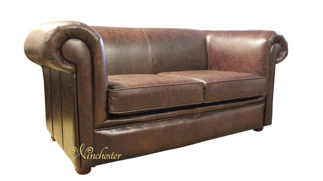 Brown Leather 2 Seater Sofa Seat Sofas For