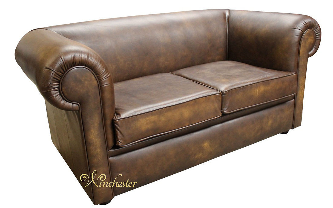 chesterfield 1930 39 s 2 seater settee antique gold leather sofa. Black Bedroom Furniture Sets. Home Design Ideas