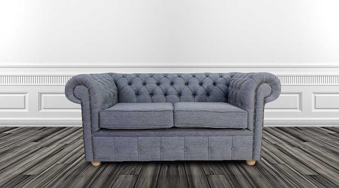 Buy fabric Chesterfield|1 year warranty|DesignerSofas4U