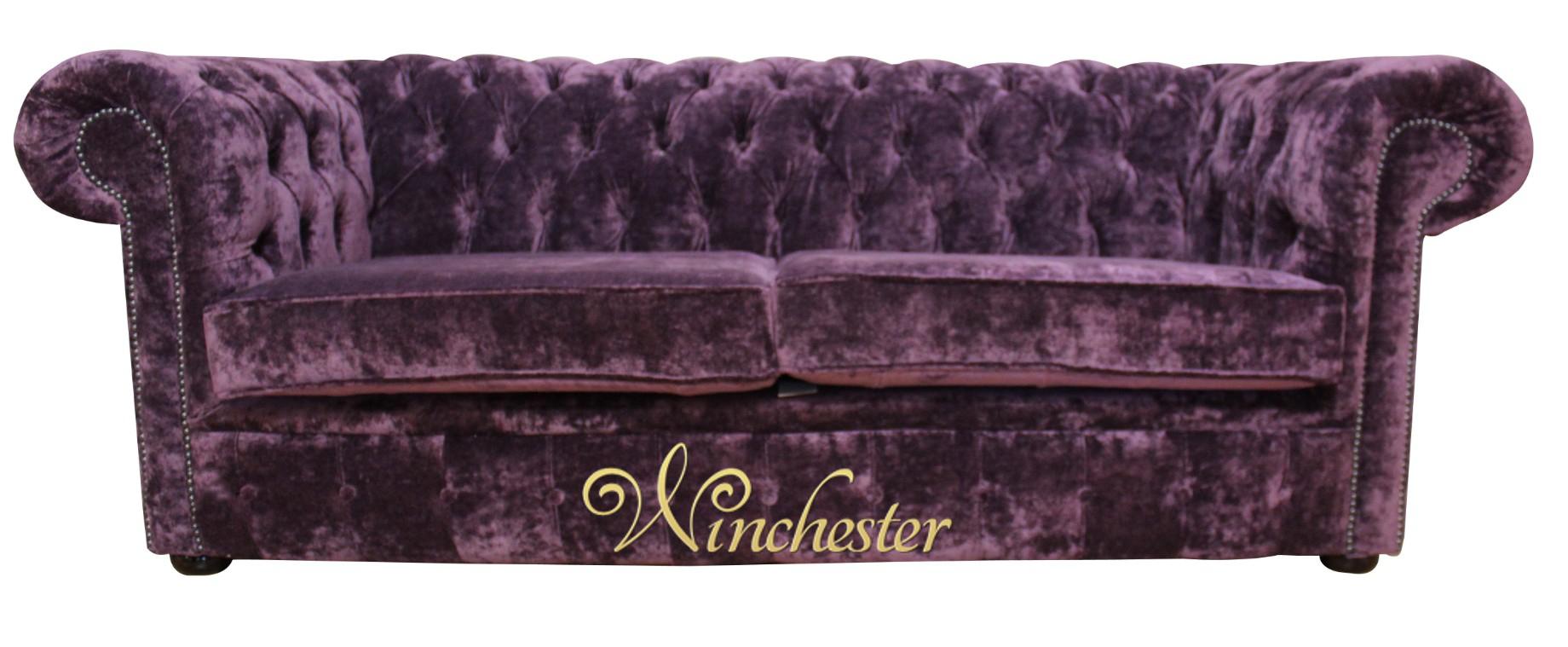 Aubergine Leather Sofa Grover Leather Sofa Brighton Aubergine ...