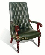Chesterfield Library Chair