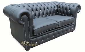 Chesterfield London 2 Seater Swarovski CRYSTALLIZED™ Diamond Leather Sofa Offer