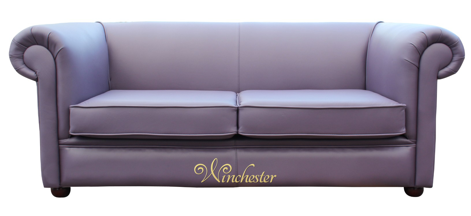 Chesterfield 1930 39 S 2 5 Seater Settee Amethyst Purple Leather Sofa