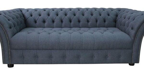 Original Chesterfield Sofas Ltd Blackburn Refil Sofa