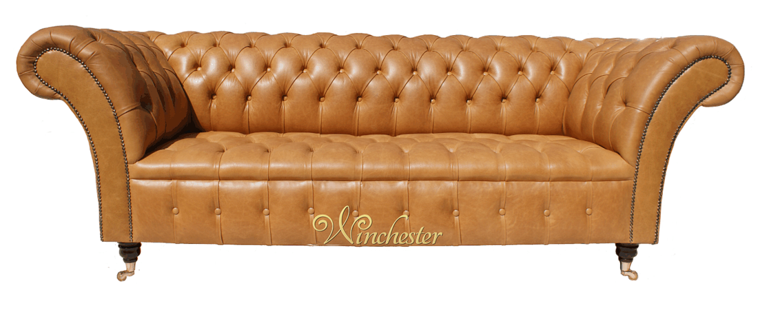 Chesterfield Balm 3 Seater Sofa Sette Old English