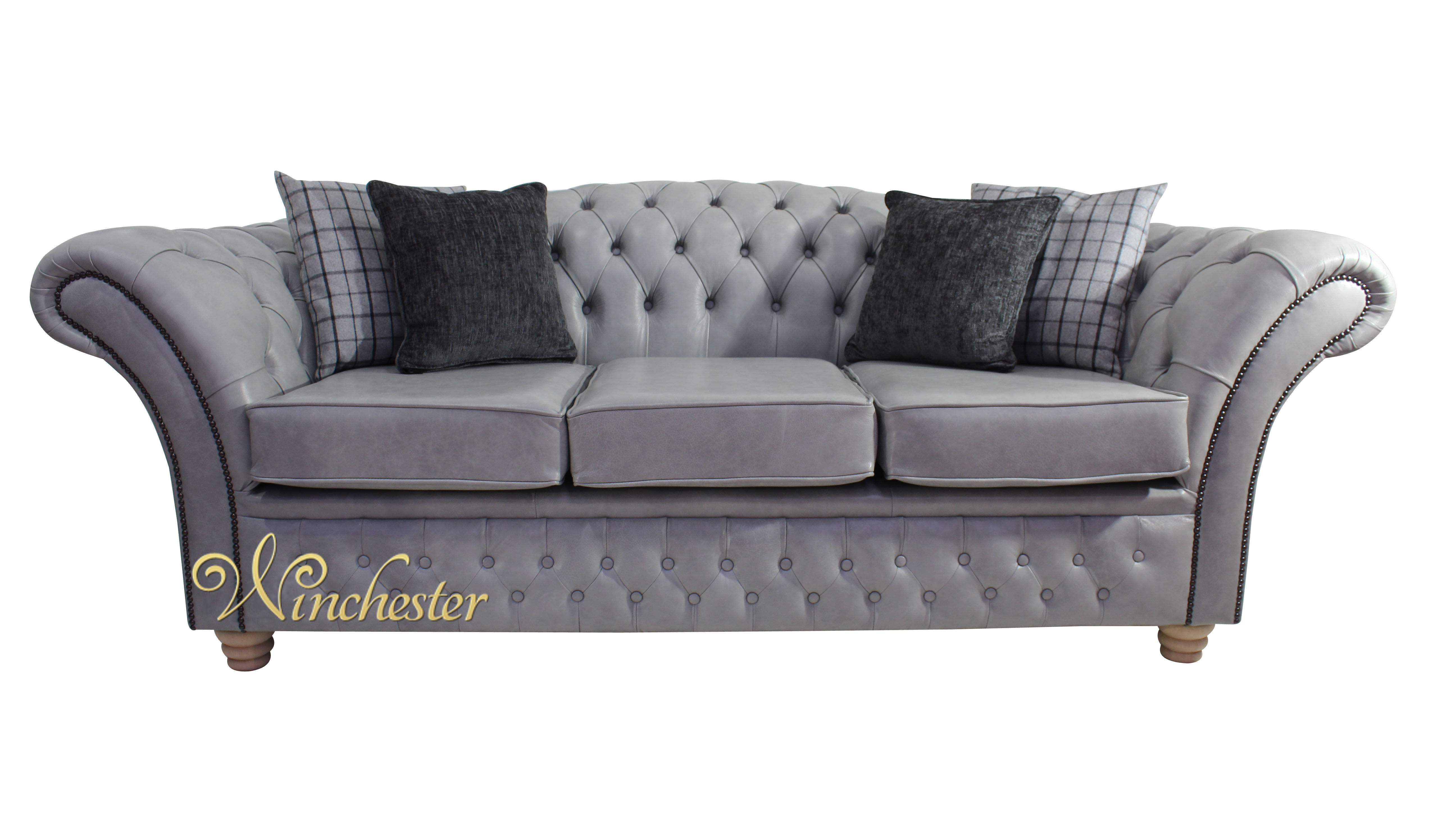 Chesterfield churchill 3 seater sofa settee stella for Traditional sofa