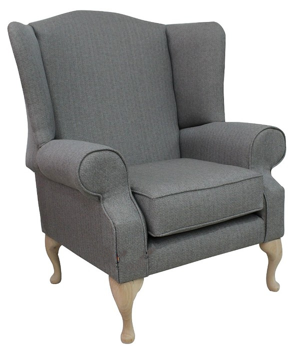 Chesterfield Sofa Saxon: Chesterfield Frederick Saxon Wing Chair Fireside High Back