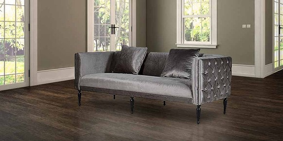 Chesterfield Velvet Buttoned 3 Seater Sofa