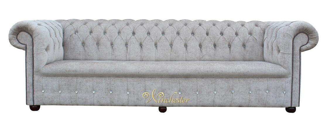 Swarovski Sofa   Chesterfield 1780 S Swarovski Crystallized Diamond 4 Seater Presto