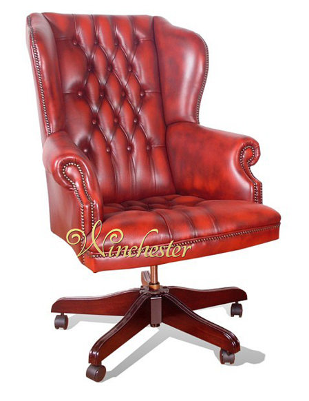 Chesterfield Commander Leather Office Chair