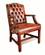 Chesterfield Gainsborough Chair - Traditional Stand