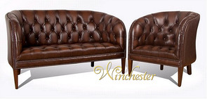 Chesterfield Mayfair Low Back Tub Chair UK Manufactured
