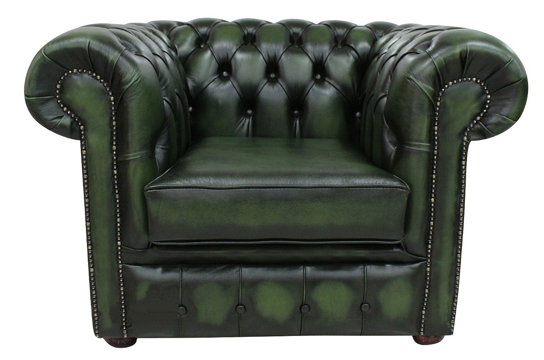 DesignerSofas4U | Buy leather Chesterfield club armchair