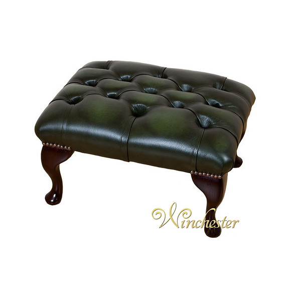Chesterfield Queen Anne Footstool UK Maufactured