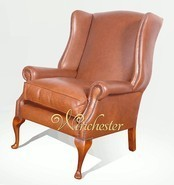 Chesterfield Gladstone High Back Wing Chair UK Manufactured