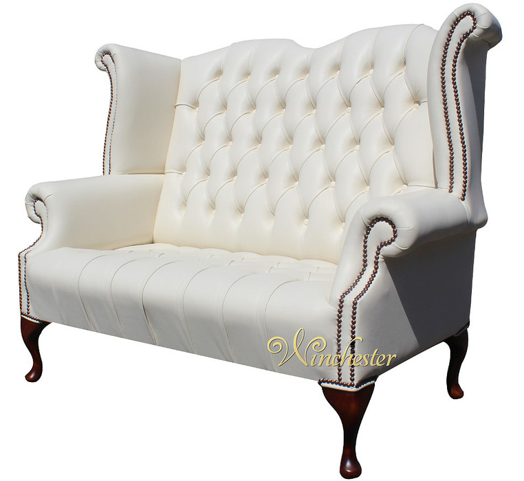 high back cream leather sofas sofa the honoroak. Black Bedroom Furniture Sets. Home Design Ideas