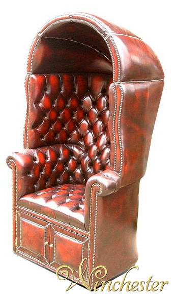 Chesterfield Porter's Chair UK Manufactured
