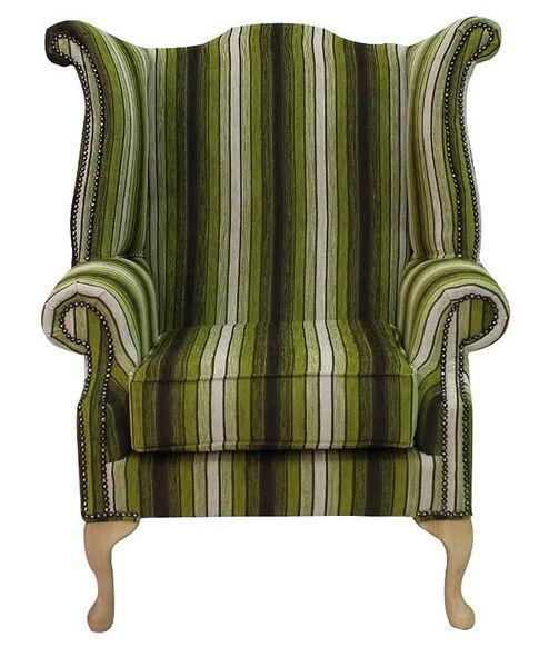 Chesterfield Sofa Saxon: Chesterfield Saxon Queen Anne High Back Wing Chair Vista