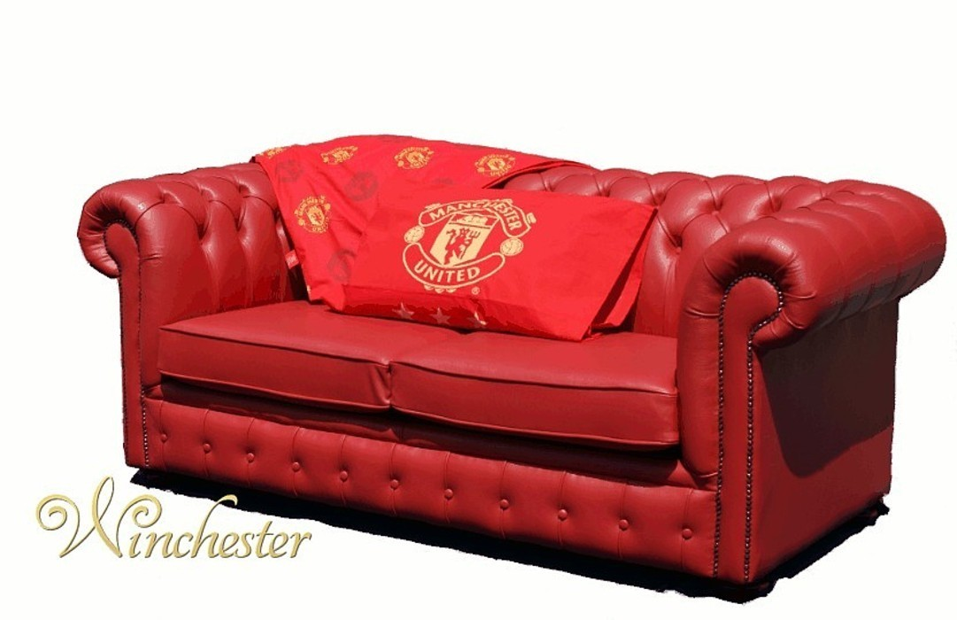 Excellent Chesterfield Red Leather Manchester United Sofabed Uk Download Free Architecture Designs Philgrimeyleaguecom