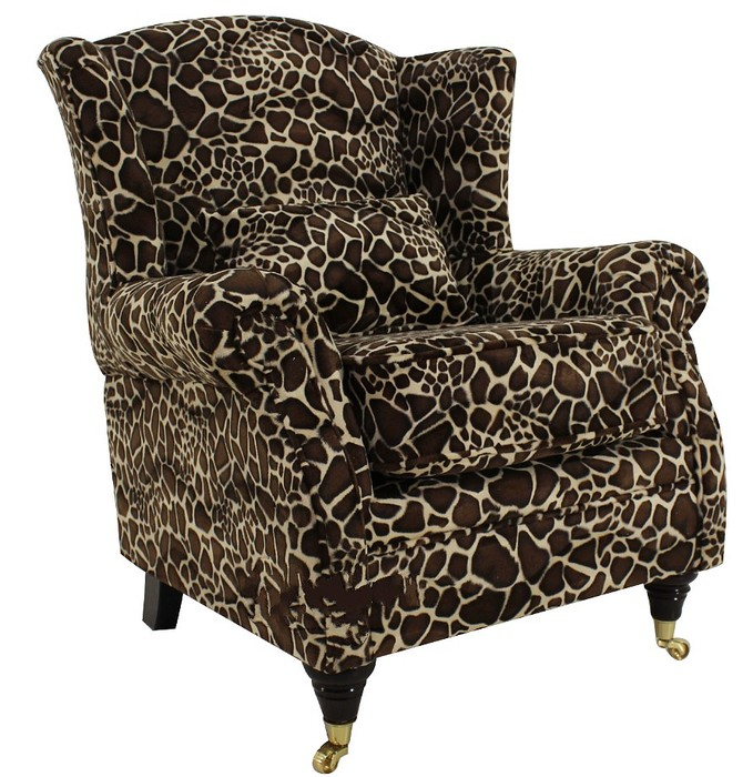 wing chair fireside high back armchair little giraffe