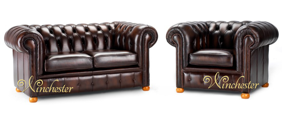 British chic mit chesterfield sofa : Chesterfield leather sofa uk manufactured sofas traditional