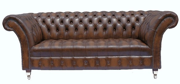 Chesterfield Balmoral Leather Sofa