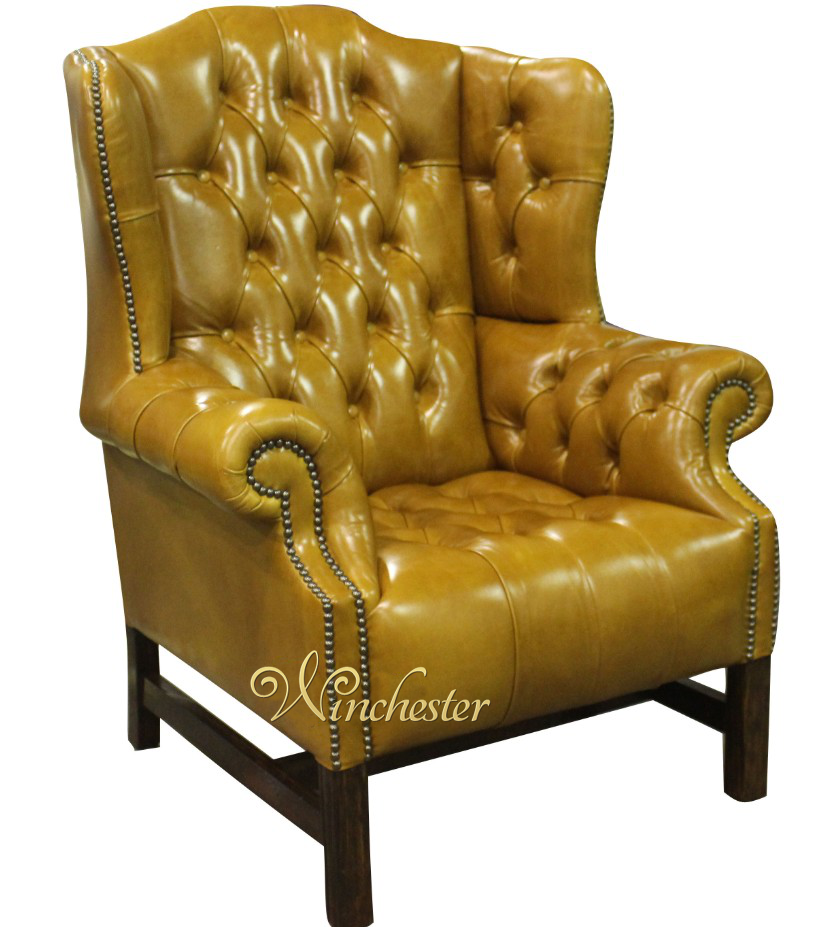 Chesterfield Churchill High Back Wing Chair Uk