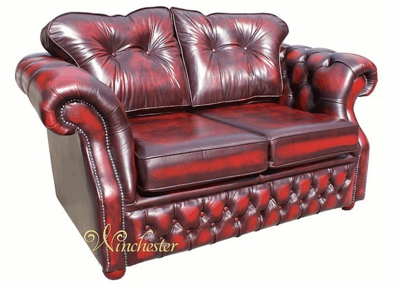 Chesterfield Era 2 Seater Settee Traditional Chesterfield Sofa Antique Oxblood