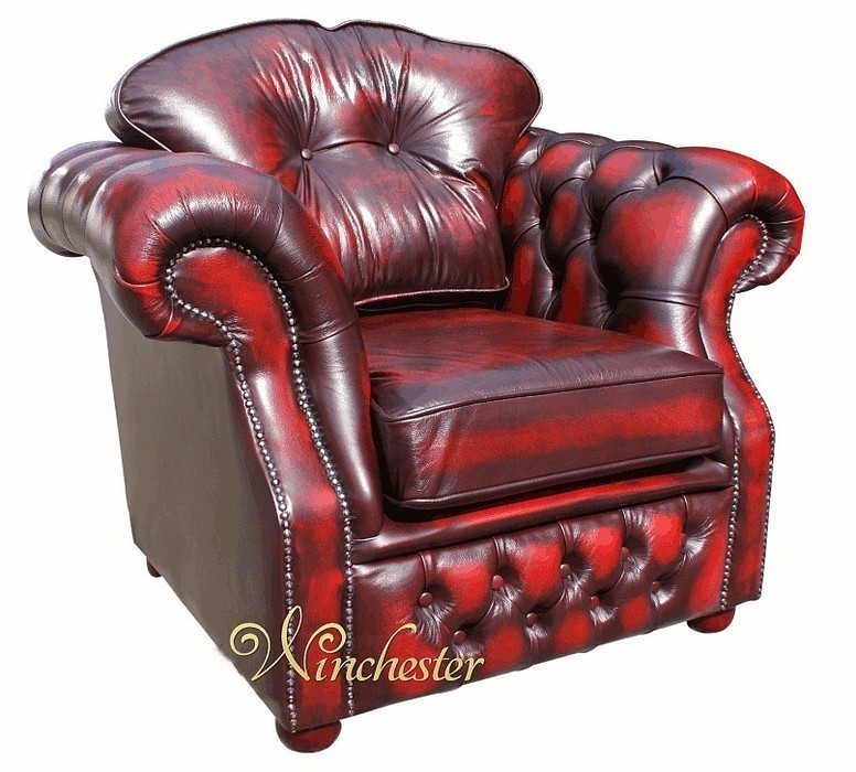 chesterfield era high back leather armchair antique oxblood traditional sofas. Black Bedroom Furniture Sets. Home Design Ideas