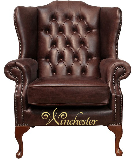 Chesterfield Highclere High Back Wing Chair Uk