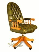 Chesterfield Mountbatten Leather Office Chair