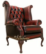 Chesterfield Graham High Back Wing Chair UK Manufactured