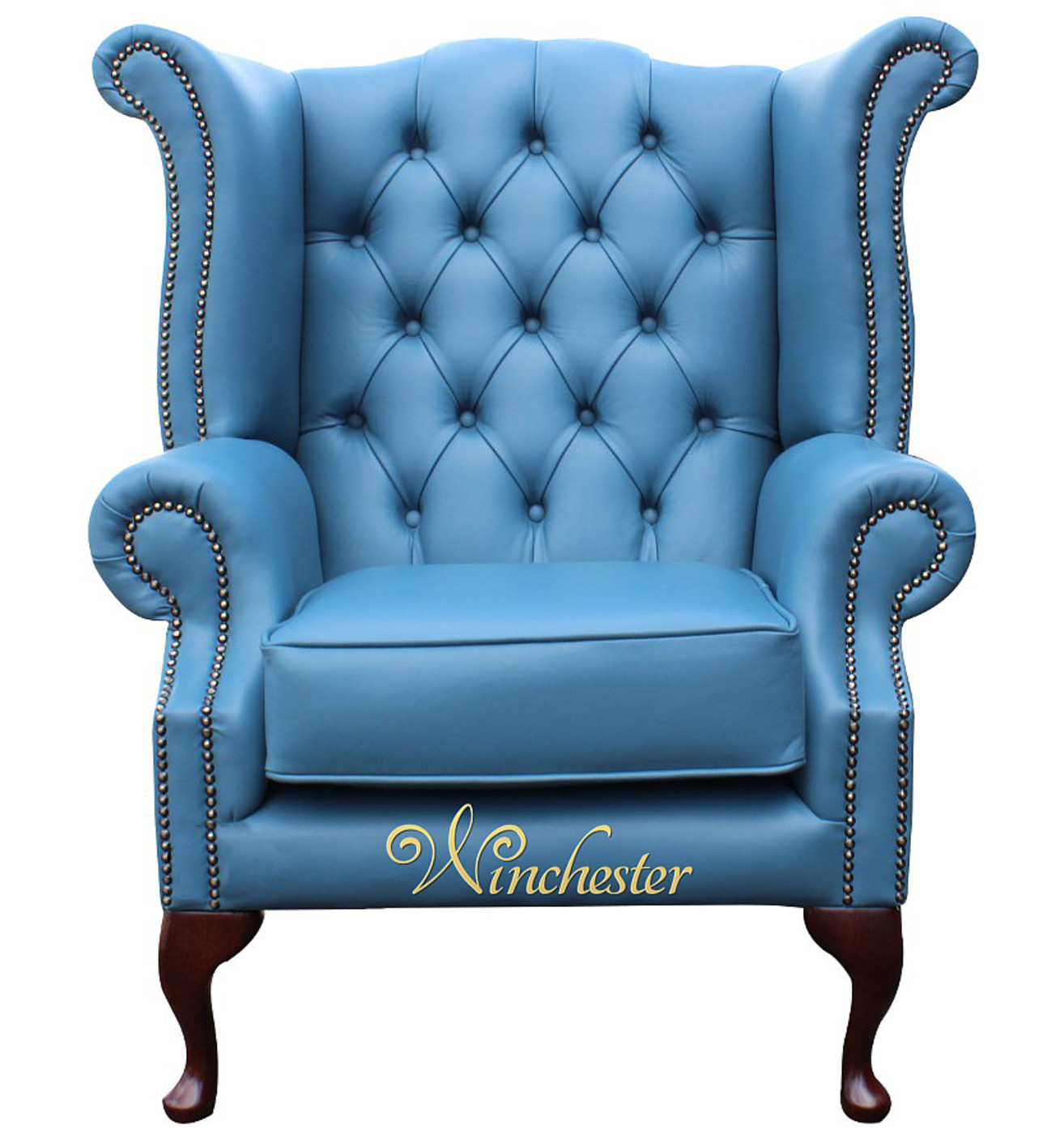 Superbe ... Chesterfield Queen Anne Wing Chair High Bcak Cambridge  ...