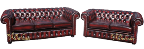 Chesterfield 3+2 Suite Swarovski CRYSTALLIZED™ Diamond Leather Sofa Offer