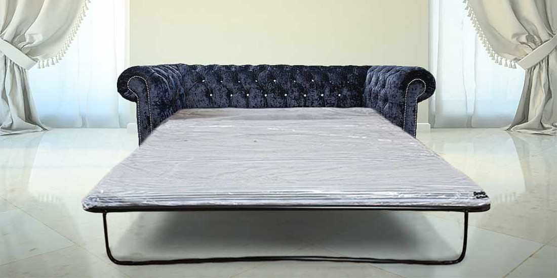 Chesterfield Crystal Diamond 3 Seater