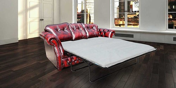 Chesterfield Era 3 Seater Settee Traditional Chesterfield Sofabed Antique Oxblood
