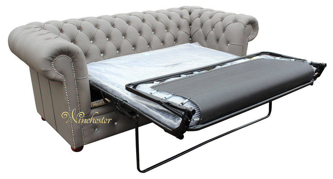 Chesterfield 2 Seater Sofa Bed Swarovski CRYSTALLIZED ...