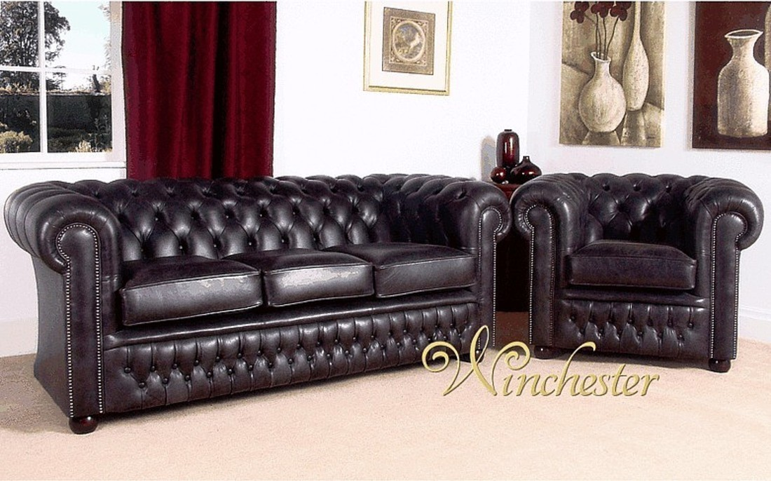 Chesterfield Stamford Leather Furniture Chesterfield Suites UK - Leather sofas and chairs uk