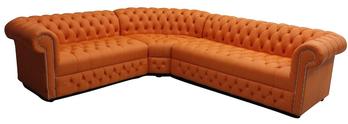 Chesterfield Corner Sofa Unit Oned