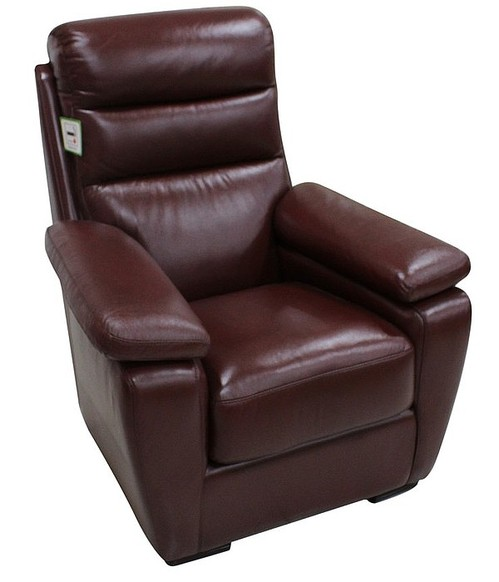 Amalfi Armchair Italian Leather Offer Wine