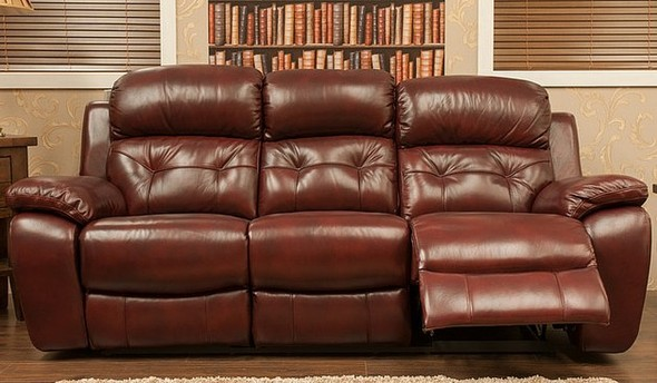 Bentley Reclining 3 Seater Leather Sofa Settee Available