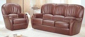 Beverley Genuine Italian Leather Sofa Suite Offer