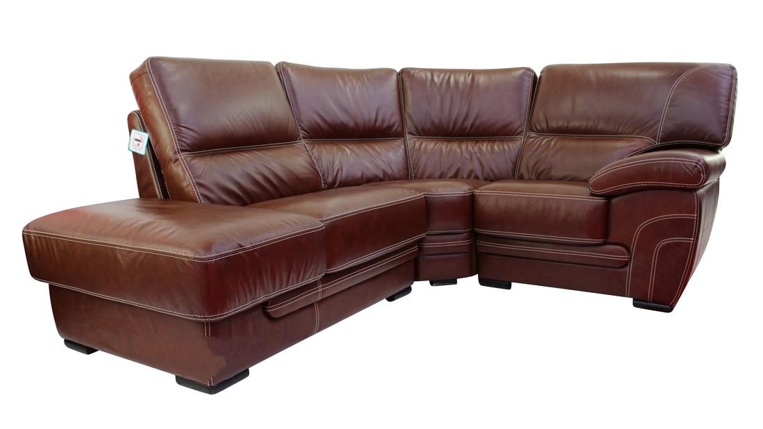 Cerise 1 + Corner + 1 Genuine Italian Tabak Brown Leather ...