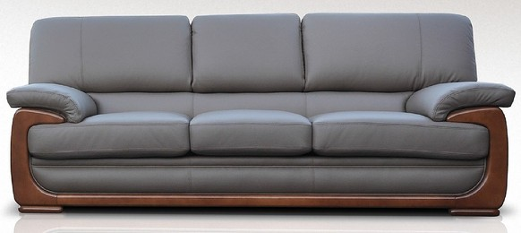 New York 3 Seater Sofa Seater Genuine Italian Brown Chocolate Leather Offer