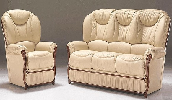 Nina Genuine Italian Leather Sofa Suite Offer