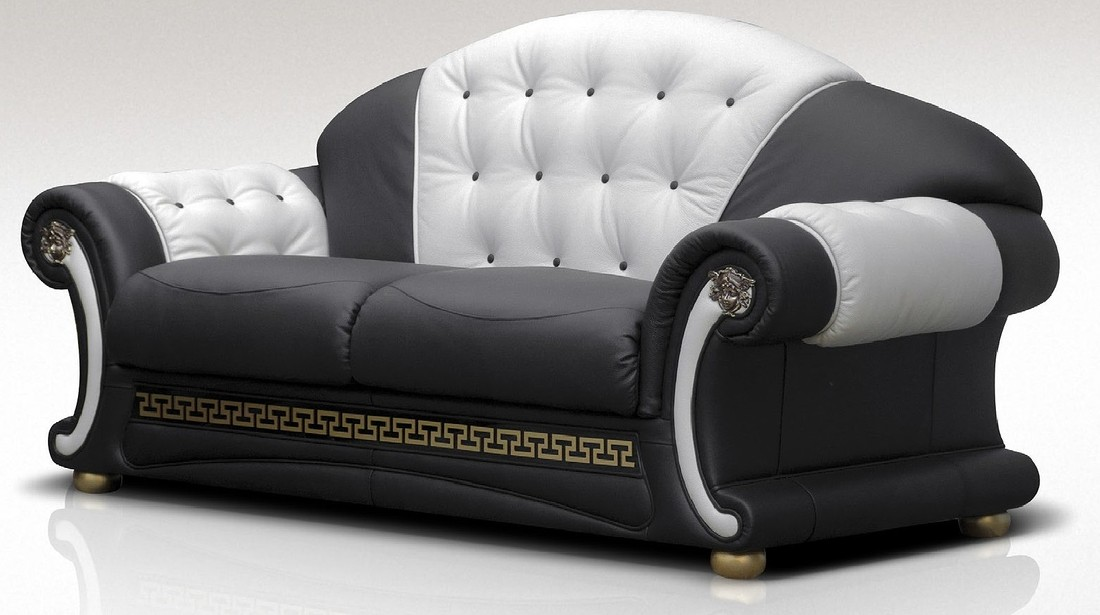 Versace Leather Sofa - Sofa Ideas